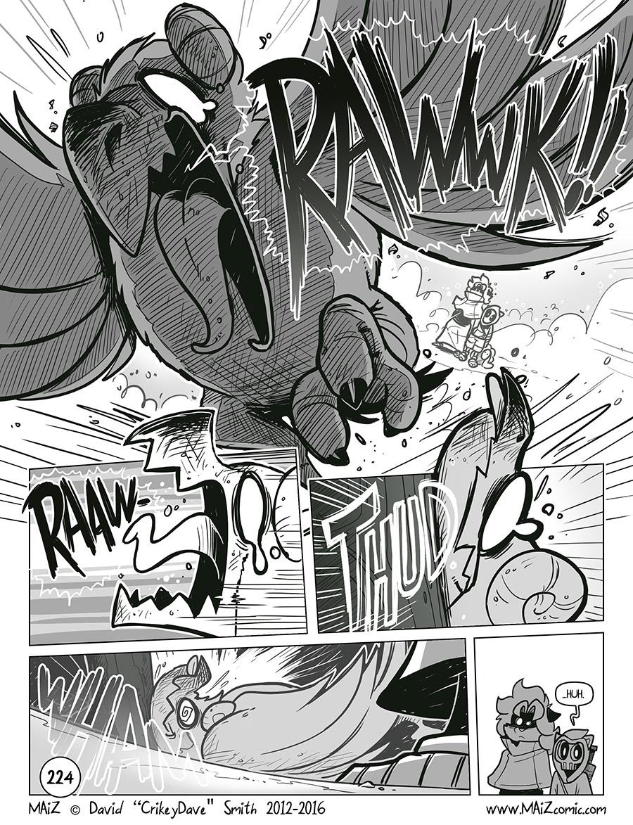 RAWWK (Translation: Goodness! Not those two again, wot wot!!)